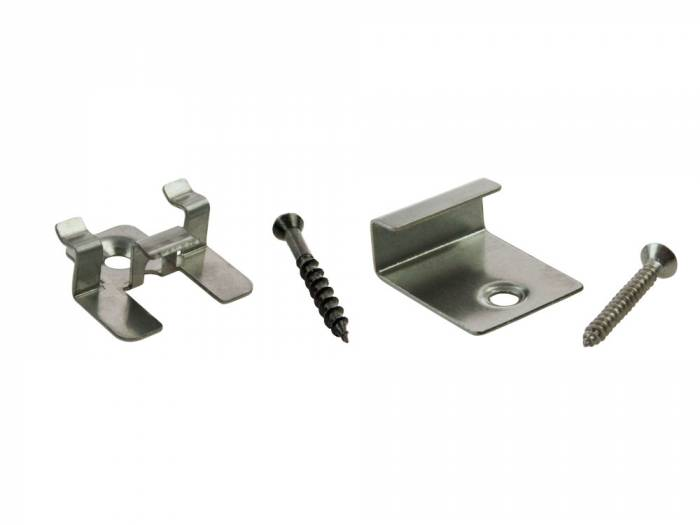 ReDeck WPC-Stahlklemmen-Set Für ReDeck