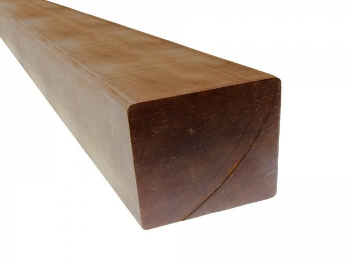 Bangkirai Konstruktionsholz, 150x150 mm AD 4-seitig glatt gehobelt_1