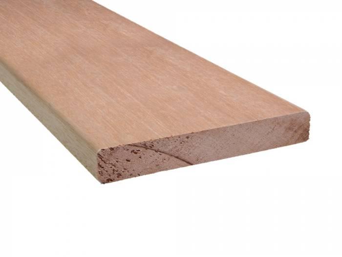 Meranti-Balkonbretter-4-seitig-gehobelt-2-Kanten-gerundet
