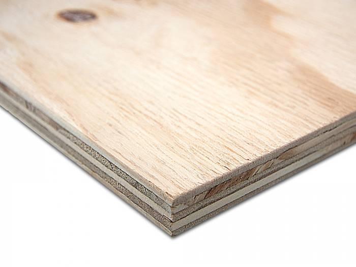 15 mm Pinus Elliotti Sperrholz C+/C WBP 2,44 x 1,22 m (60 Stück/ Paket)_1
