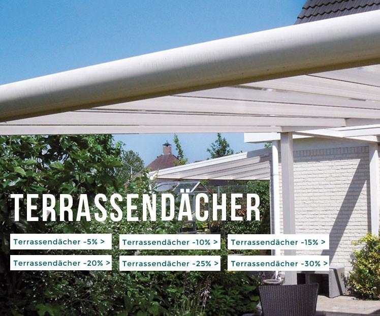 Terrassendächer günstig kaufen