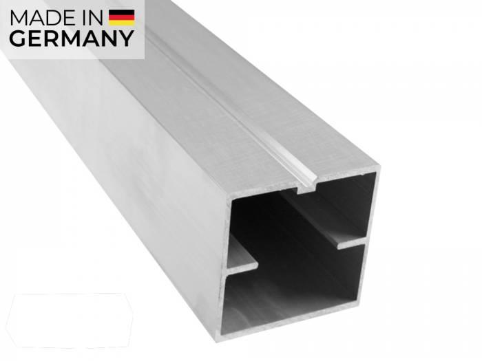 KAHRS Aluminium Unterkonstruktion, 60x60 mm, blank, *x-strong* für weite Abstände_1