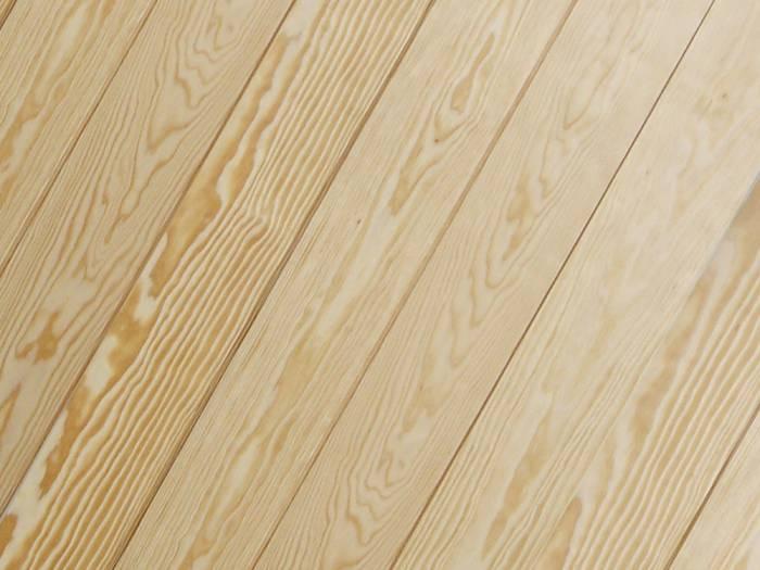KAHRS Massivholzdielen, Seekiefer, 21x146 mm, Select, im Prinzip astrein, unbehandelt rundum Nut & Feder, mit Microfase_1