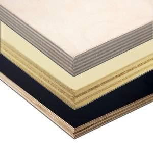 Der Aufbau von Sperrholzplatten