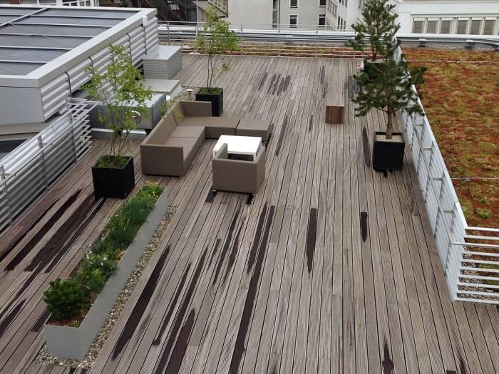 Bongossi Terrassendielen, 35x140 mm, AD, Sichtseite grob, 3-seitig egalisiert_1