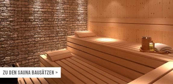 sauna bausatz