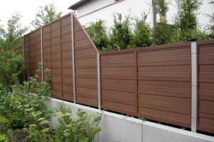 Wpc Zaun Gunstig Kaufen Holzhandel Deutschland
