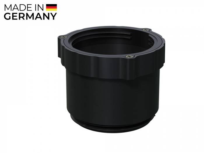 Karle & Rubner TERRACON Adapter für Terrassenlager, Polypropylen schwarz, 80 mm hoch_1