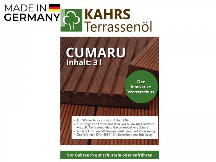 KAHRS Terrassenöl, Cumaru, 3 L, PET-Kanister_1