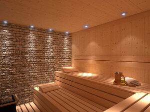 Sauna-Innenbereich