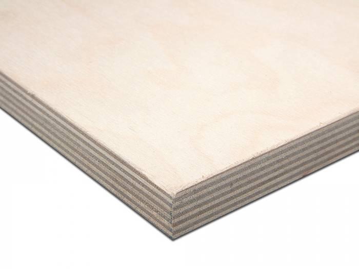 9 mm Birke Multiplexplatten, BB/BB, BFU 100, längsfurniert, 2,50 x 1,25 m_1