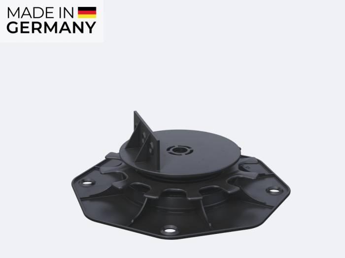 Karle & Rubner TERRACON Terrassenlager, Polypropylen schwarz, Verstellbarkeit 2,5-4,0 cm_1