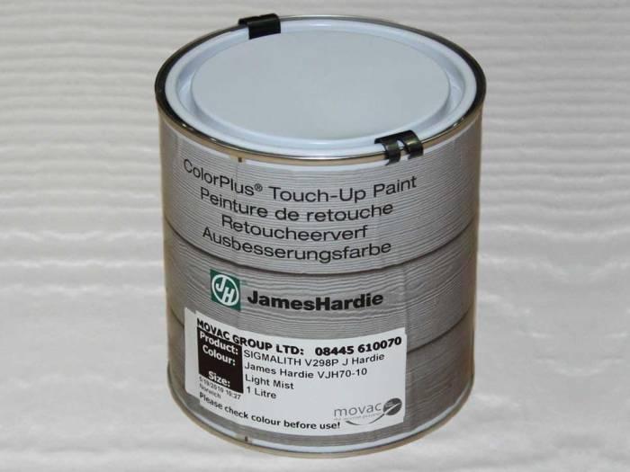 JamesHardie Touch-up Paint, für den Schnittkantenanstrich, JH 70-10 Nebelgrau, 1L 1