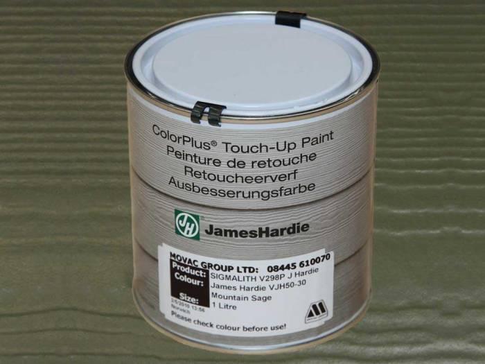 JamesHardie Touch-up Paint, für den Schnittkantenanstrich, JH 50-30 Salbeigrün, 1L 1